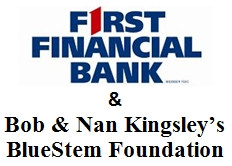 1st Financial Bank Bob and Nan Kinglsley's Blue Stem Foundation